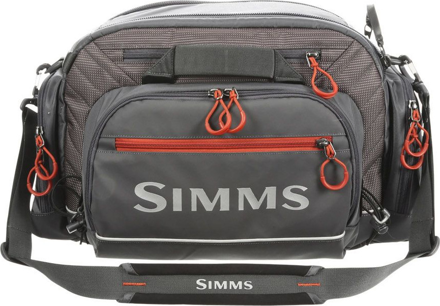 006ea37f3625 Simms Challenger Ultra Tackle Bag Anvil – Glasgow Angling Centre
