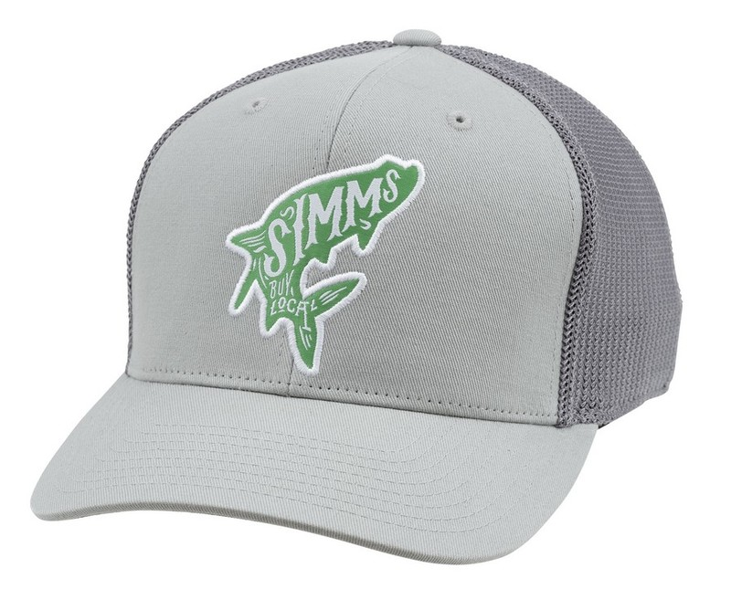 Simms flexfit trucker caps glasgow angling centre for Simms fishing hat