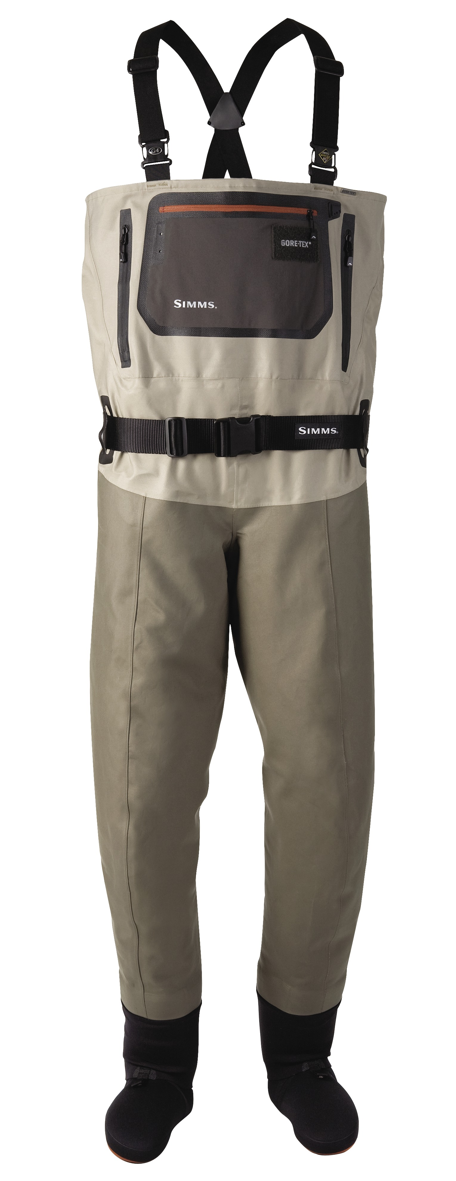 Simms g4 pro chest waders glasgow angling centre for Simms fishing waders