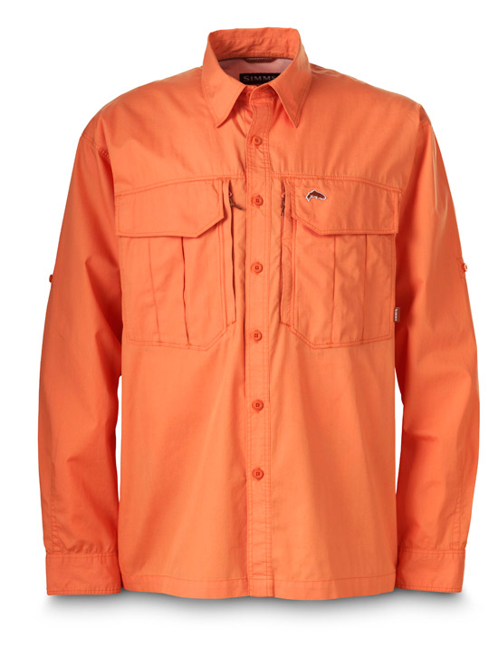 Simms guide shirt glasgow angling centre for Simms fishing shirts