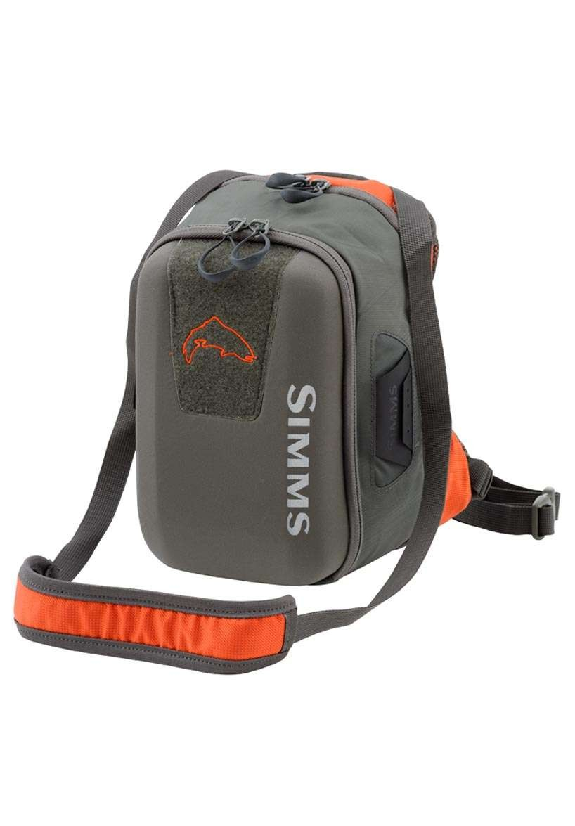 Simms headwaters chest pack glasgow angling centre for Fishing chest pack