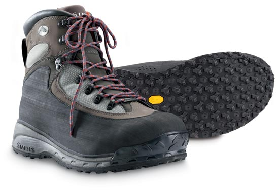 Simms rivershed wading boots glasgow angling centre for Fly fishing wading boots