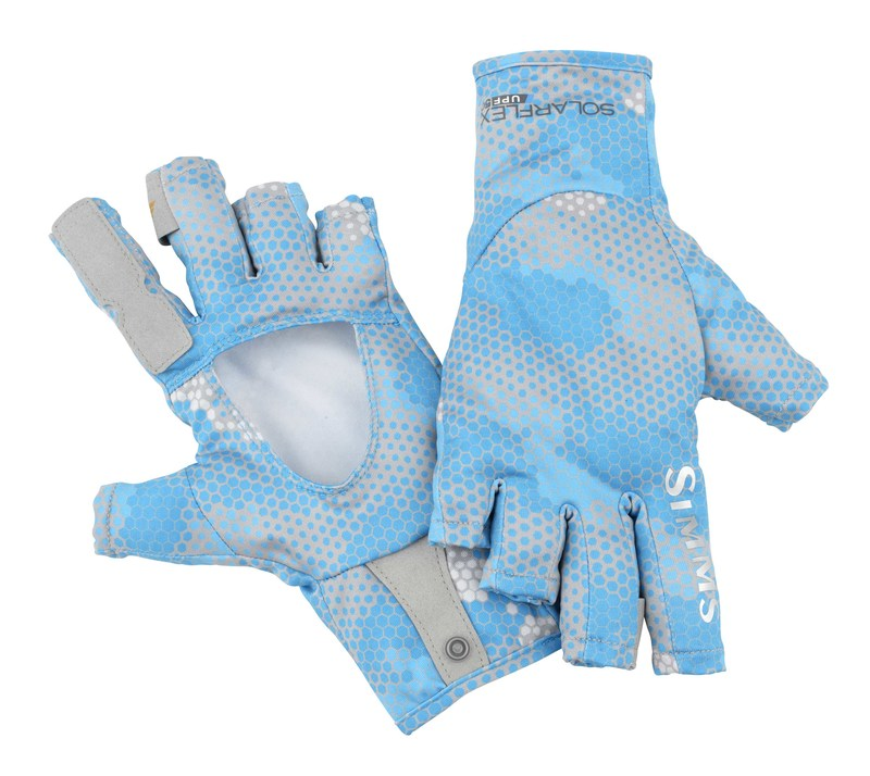 Simms sun gloves glasgow angling centre for Fishing sun gloves