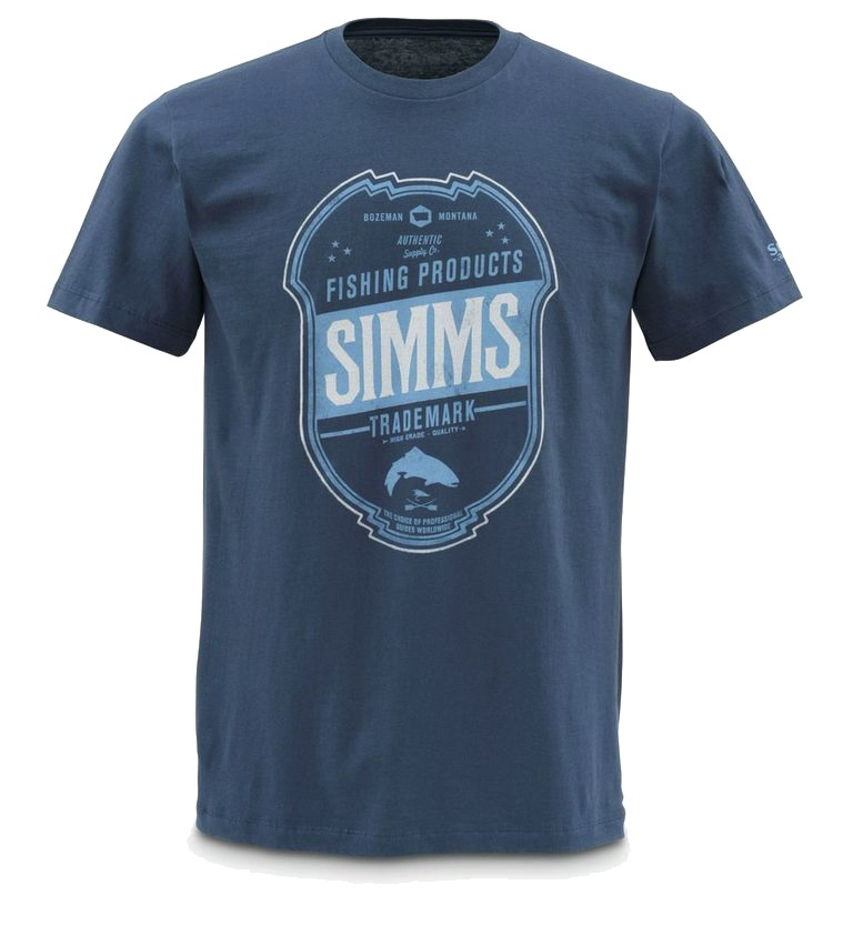 Simms fishing products t shirts glasgow angling centre Fishing t shirts