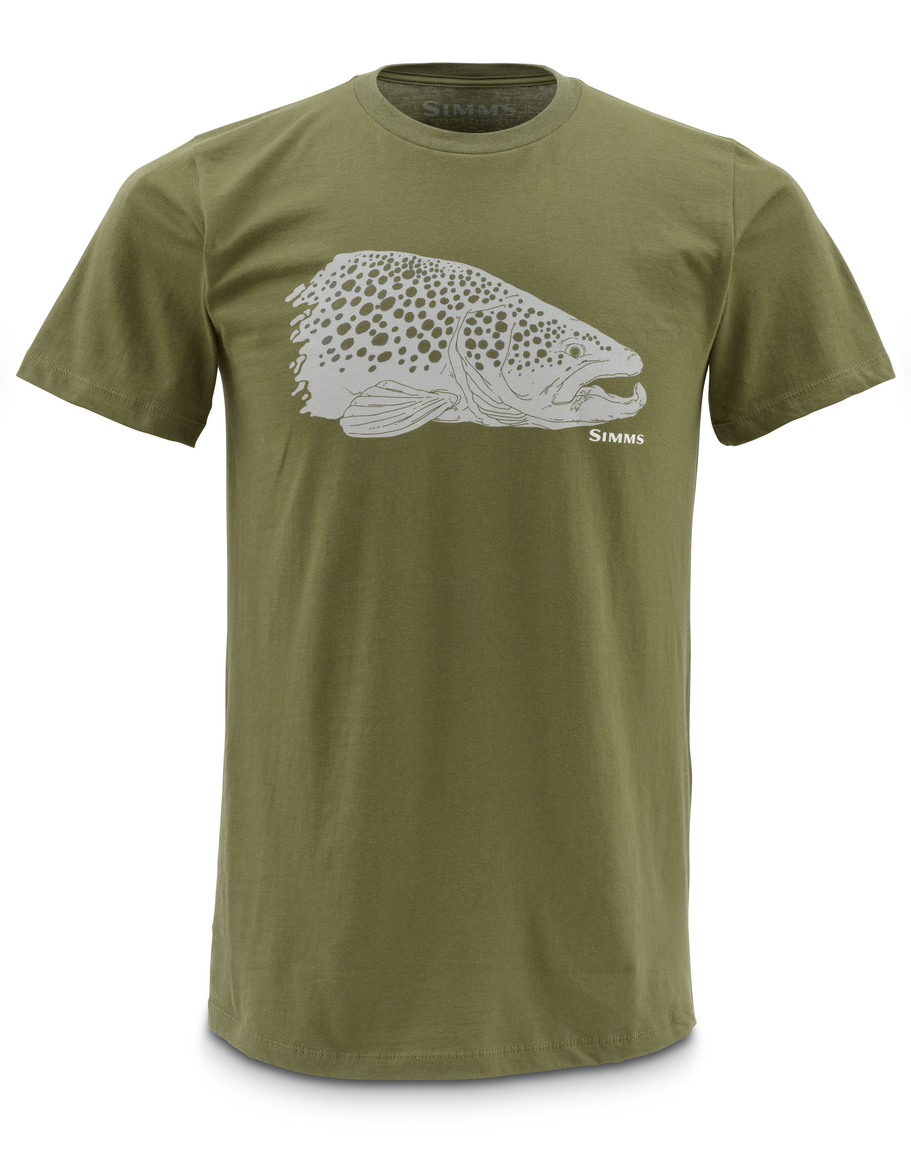 simms t shirt kype jaw glasgow angling centre