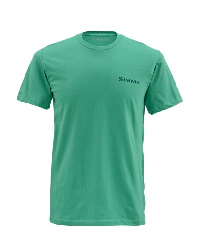 Simms t shirt salmonfly glasgow angling centre for Simms fishing shirts