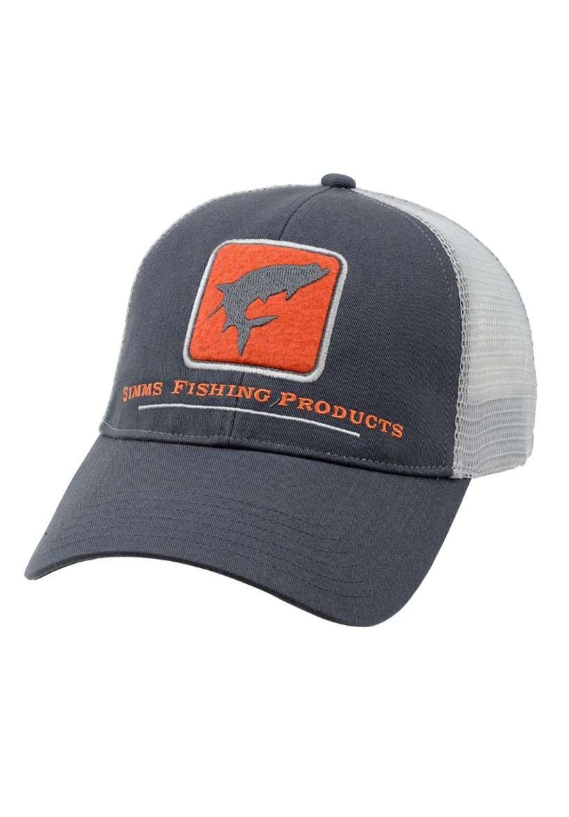 Simms trucker cap dark shadow glasgow angling centre for Simms fishing hat