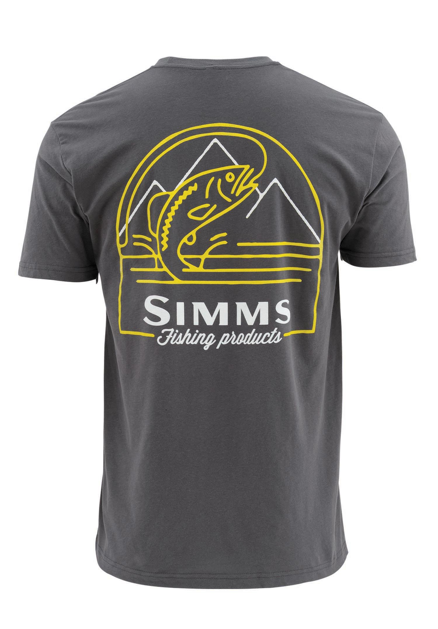 Simms weekend trout t shirt anvil glasgow angling centre for Simms fishing shirts