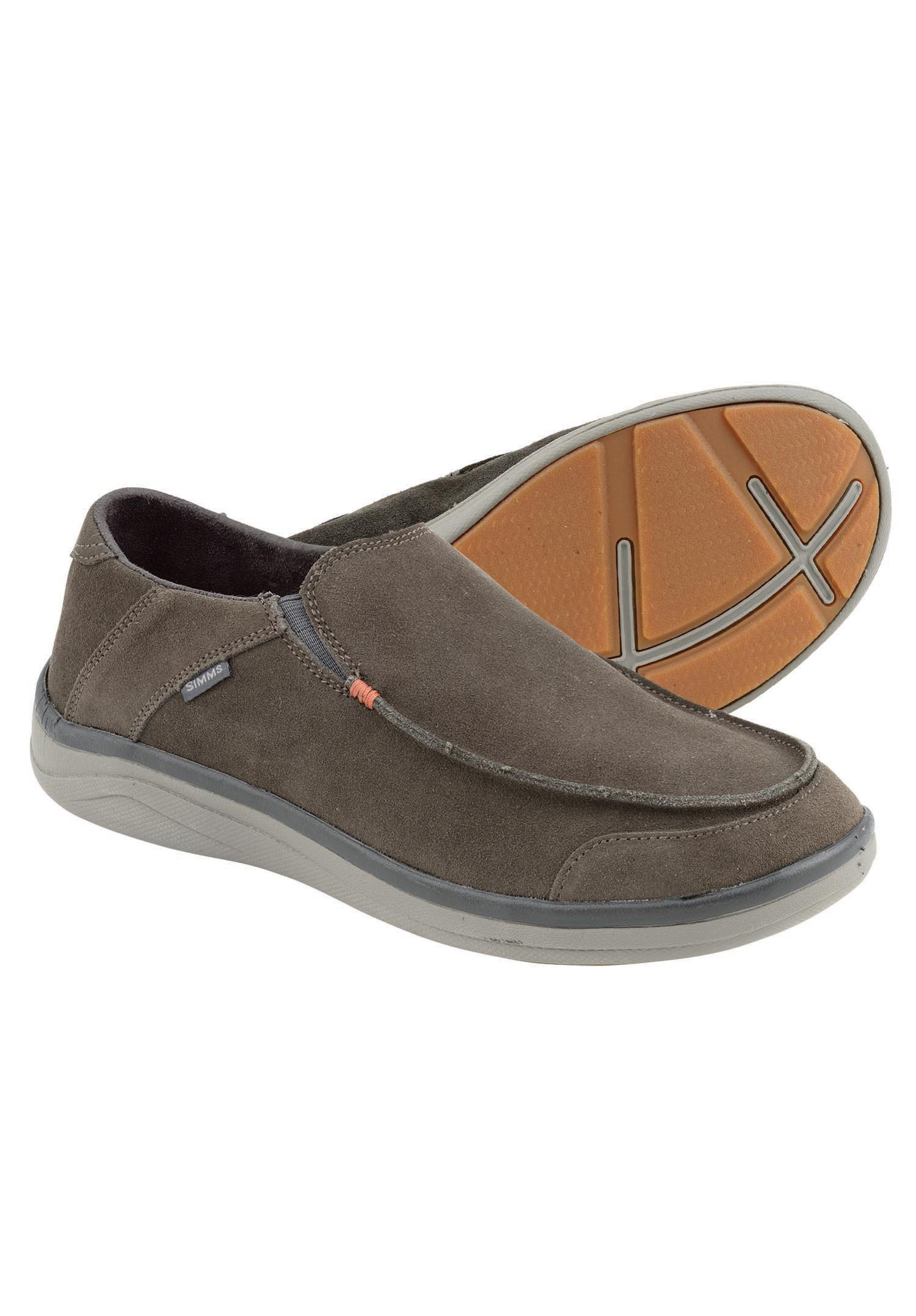 Simms westshore leather slip on shoe glasgow angling centre for Simms fishing shoes
