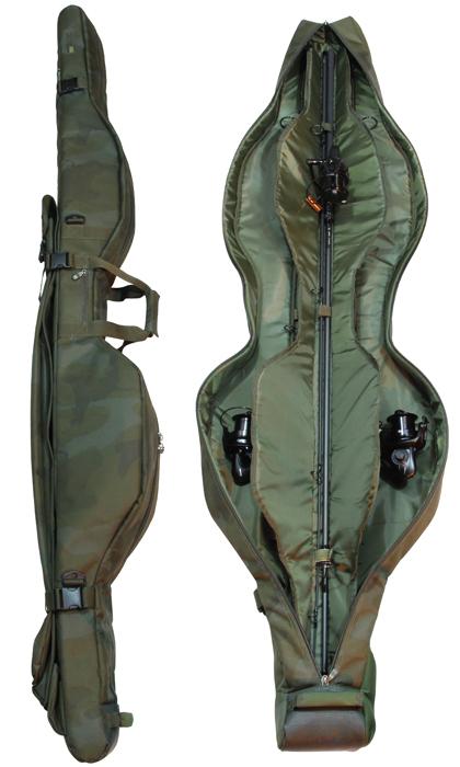 SKT3RS10 Sonik SK-TEK 3 Rod Compact Rod Sleeve 10ft Carp Luggage *NEW*