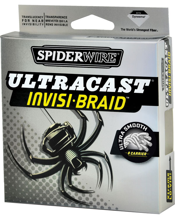 Spiderwire ultracast invisi braid glasgow angling centre for Walmart braided fishing line