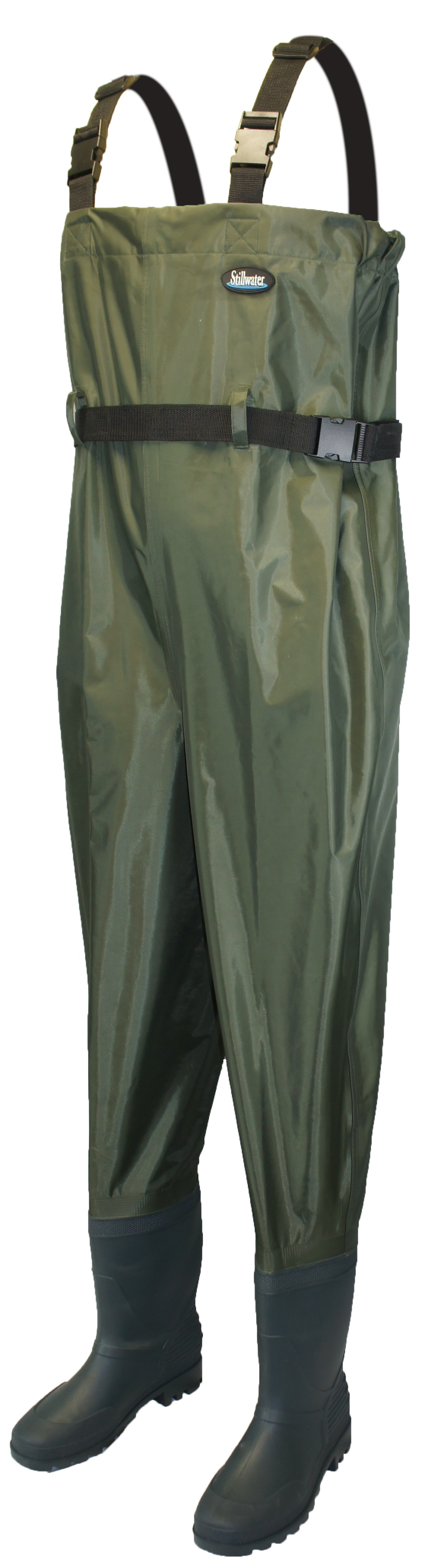 Stillwater classic pvc bootfoot chest waders glasgow for Chest waders for fishing
