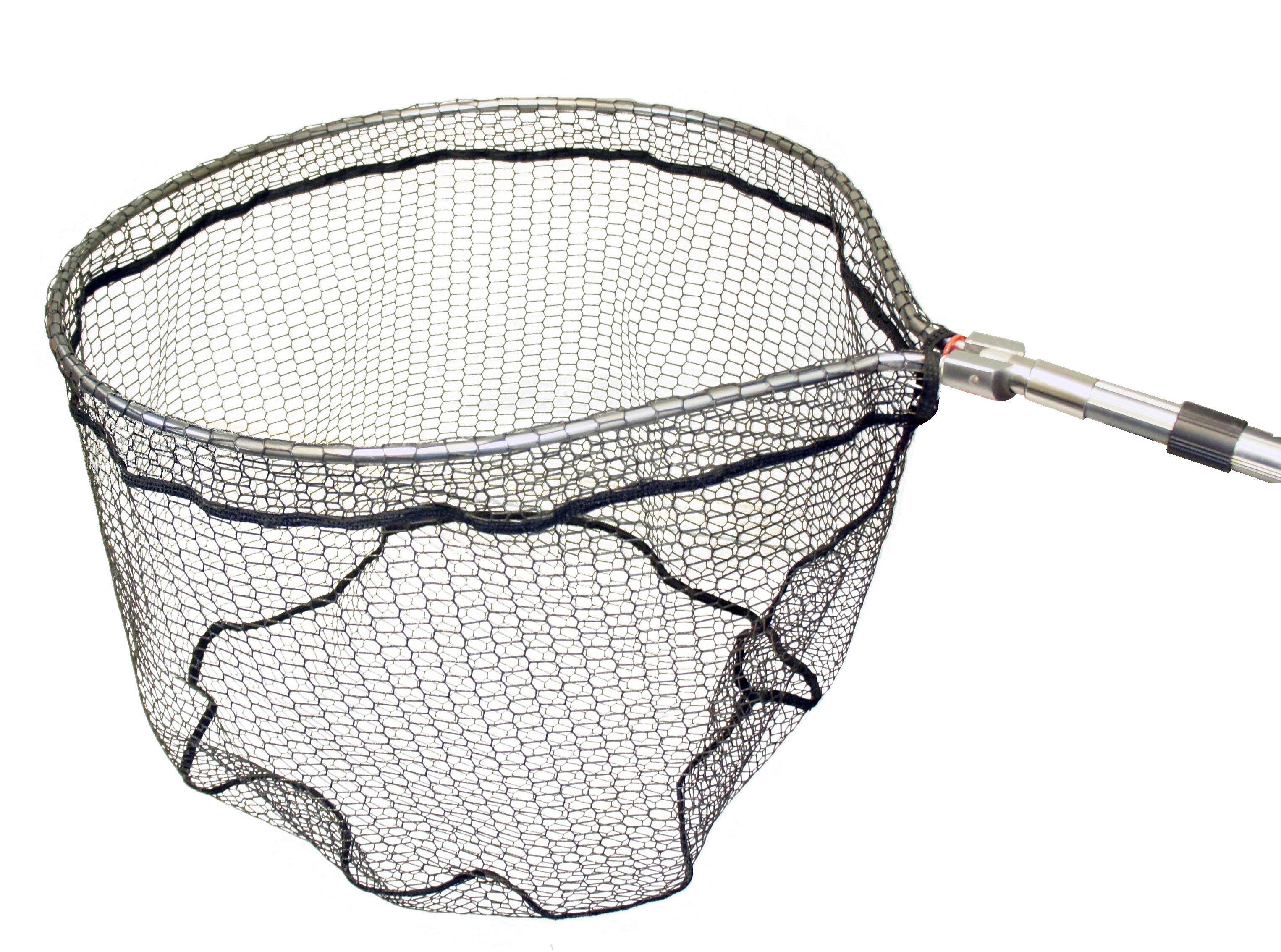 Stillwater tele pro folding landing net glasgow angling for Collapsible fishing net