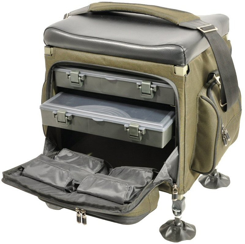 Tf gear compact tackle seat box glasgow angling centre for Best fishing tackle box