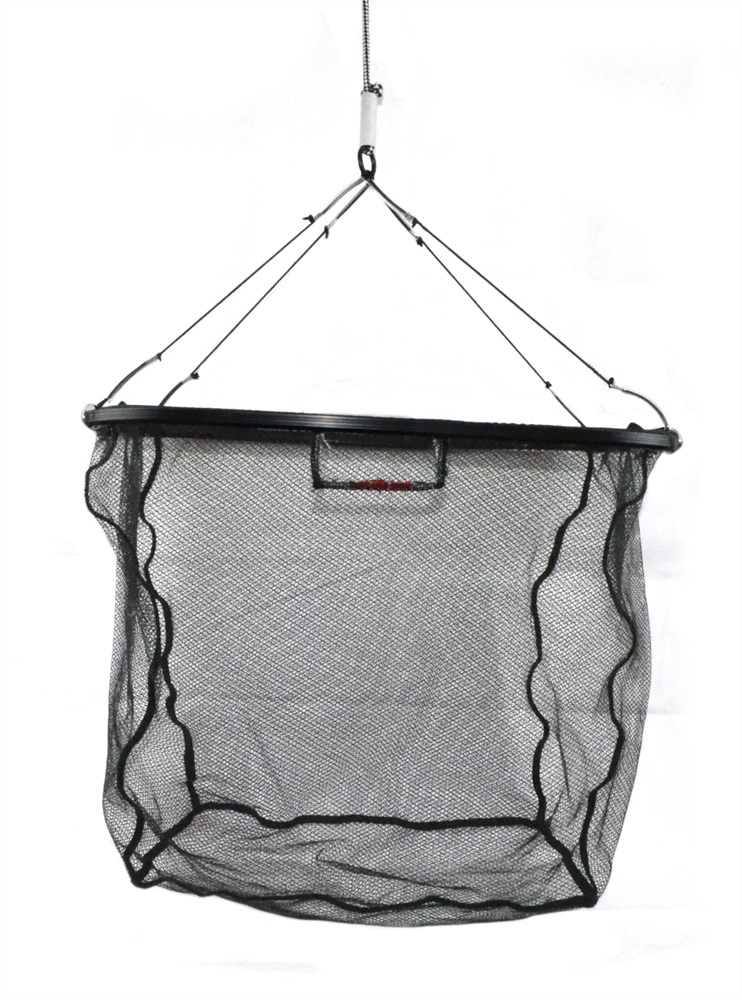 Tronixpro folding drop net glasgow angling centre for Drop net fishing