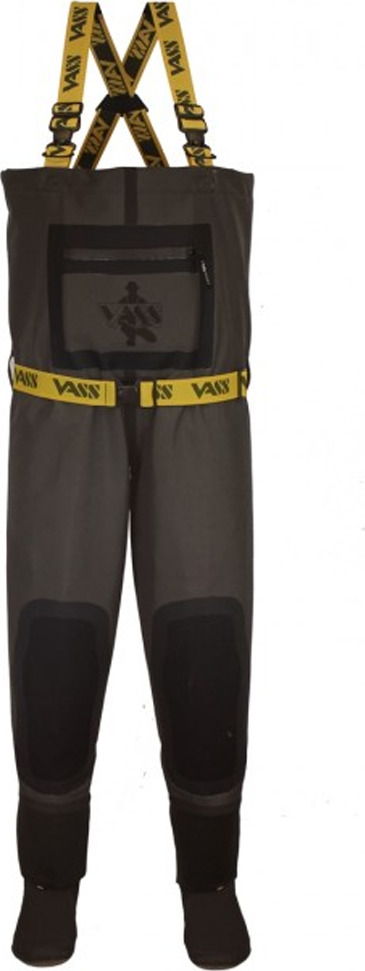 Vass Breathable Chest Waders 305 5L Boot Foot Non Studded