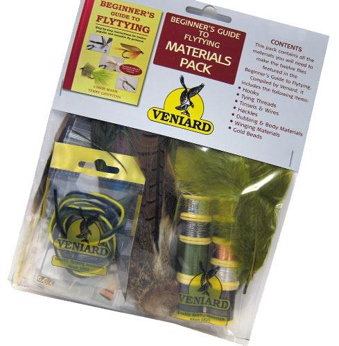 Veniard beginner 39 s guide to fly tying materials pack for Beginner fly fishing kit