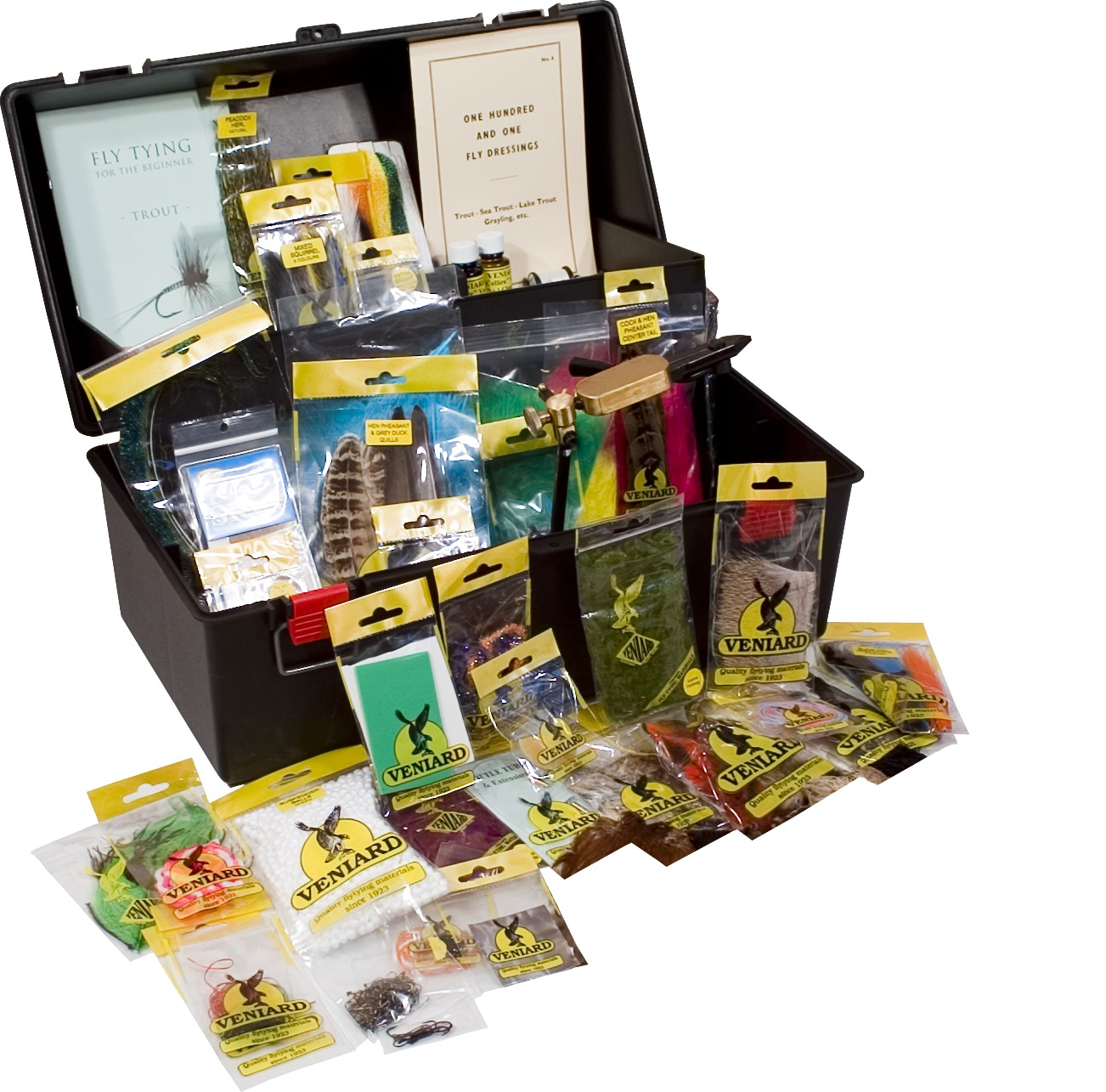 Veniard Connoisseur Fly Tying Kit Glasgow Angling Centre