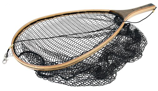 Vision wooden trout net magnet glasgow angling centre for Wooden fishing net