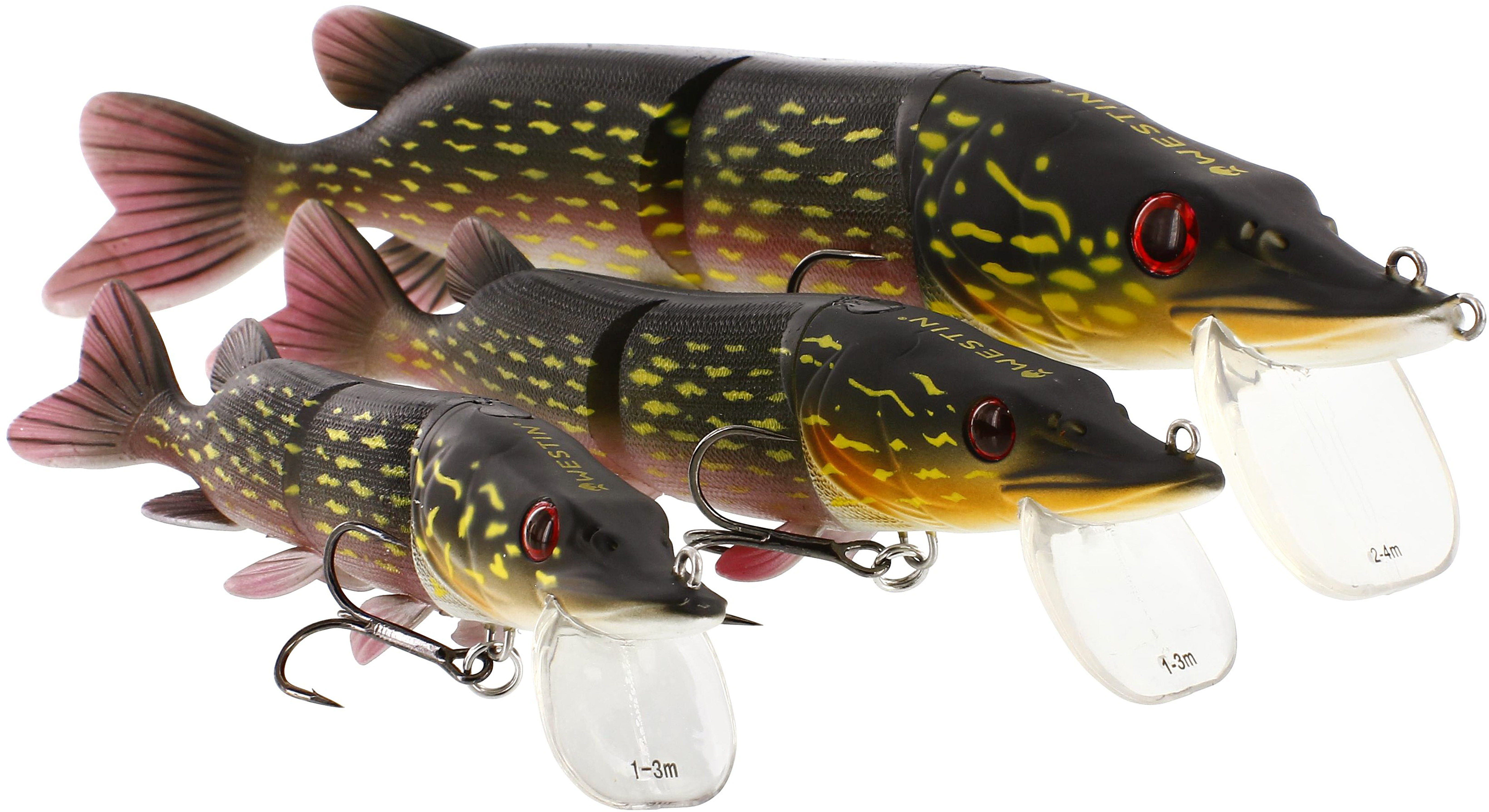 Westin mike the pike hb sl hybrid lures glasgow angling for Pike ice fishing lures