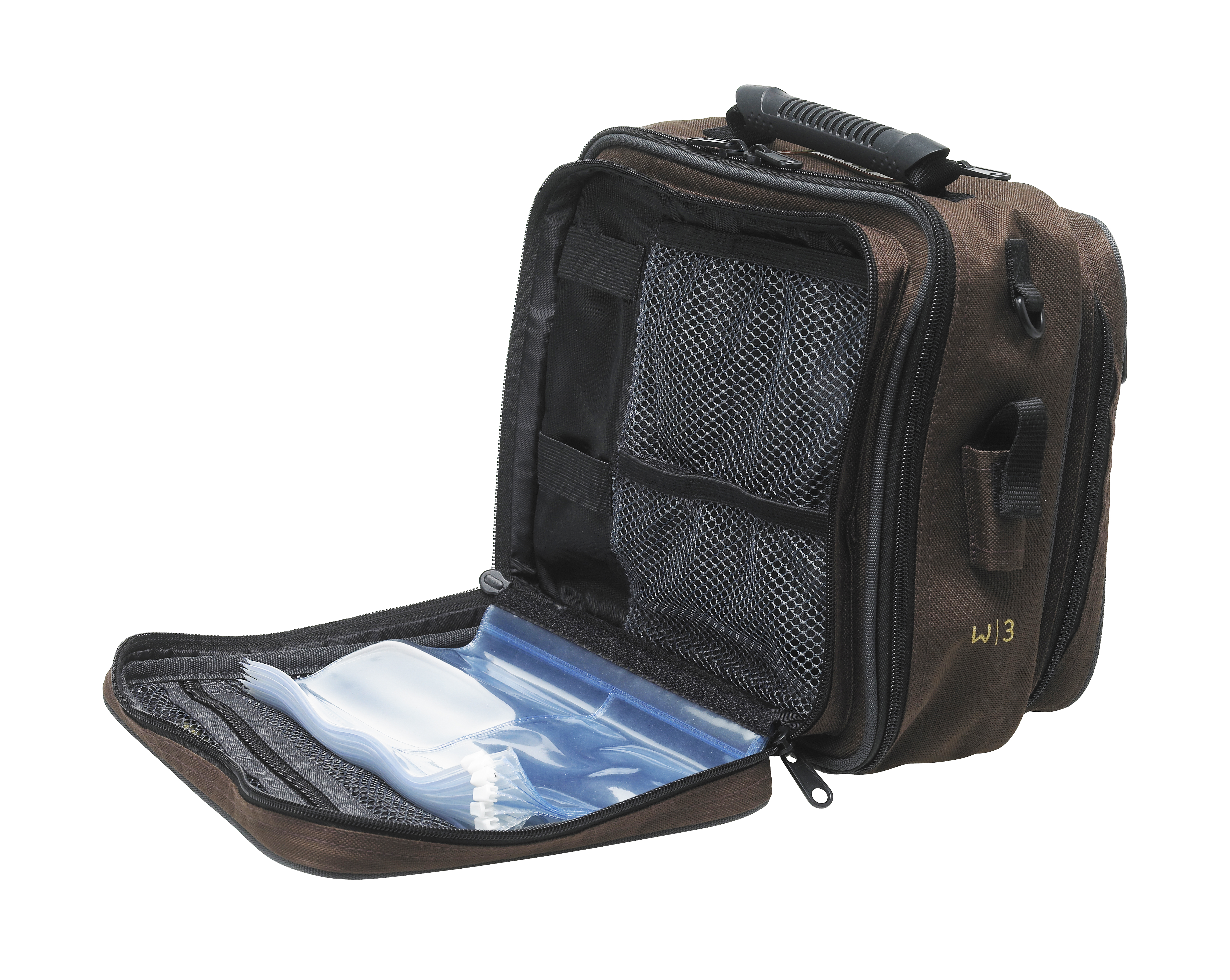 Westin w3 rig bag l grizzly brown black glasgow angling for Rigged fishing backpack
