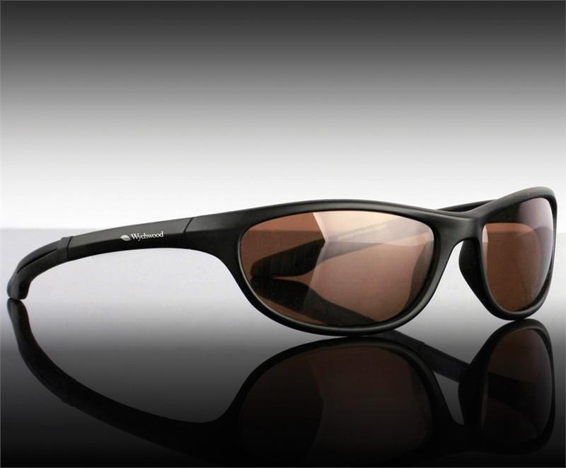 sunglasses wrap  Wychwood Black Wrap Sunglasses \u2013 Glasgow Angling Centre