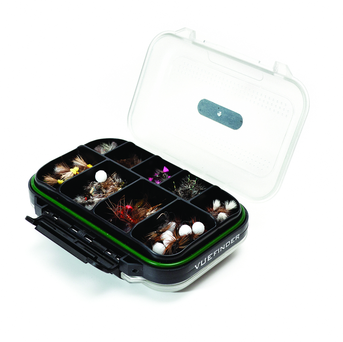 Wychwood dryfly s compartment fly boxes glasgow angling for Fly fishing box