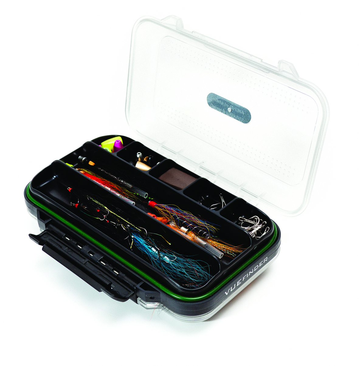Wychwood vuefinder tube fly box glasgow angling centre for Fly fishing box
