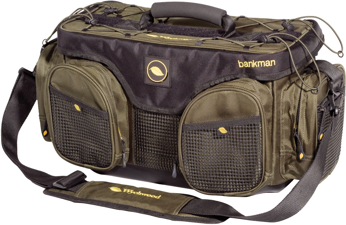 Wychwood bankman bag glasgow angling centre for Fly fishing luggage
