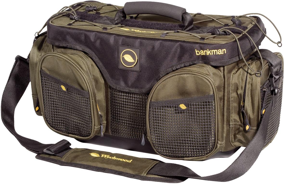 Wychwood bankman bag glasgow angling centre for Fly fishing bag