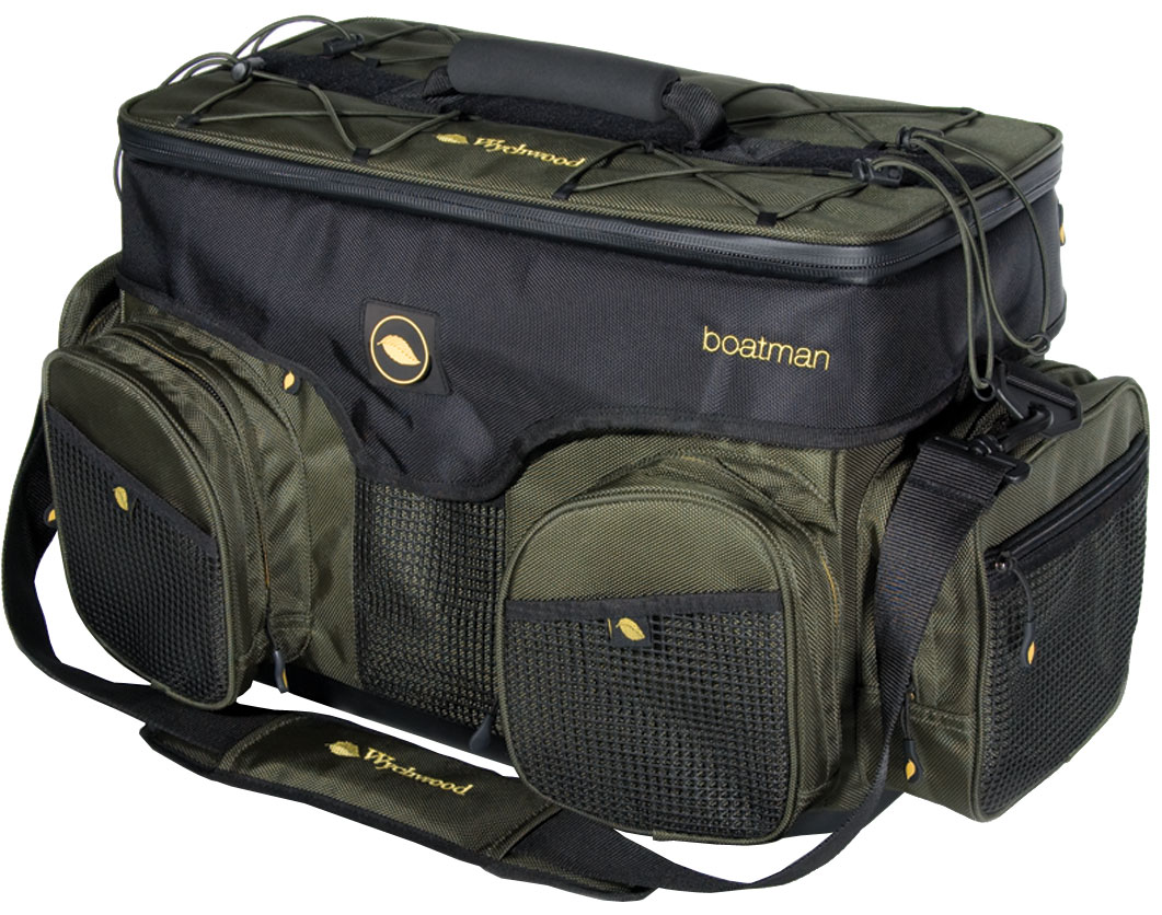 Wychwood boatman game bag glasgow angling centre for Fly fishing luggage