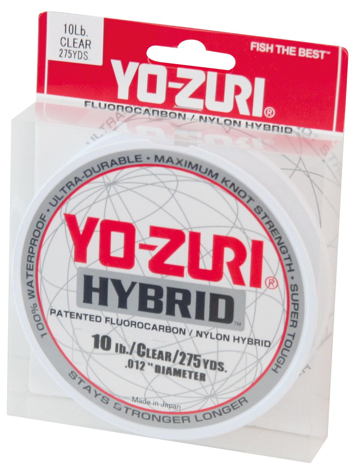 Yo zuri hybrid mono line clear glasgow angling centre for Fishing yo yo