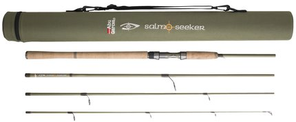 Abu Garcia Salmo Seeker 4pc Spinning Rods