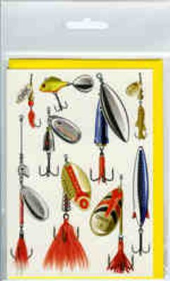 Angling Knots Andy Steer Greetings Cards Spinners