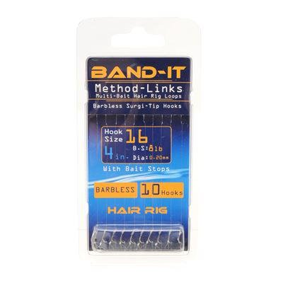 Band-It Rig Eyed Barbless Method Link Hair