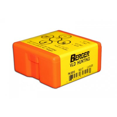 Berger 6.5mm 140 Grain Match Hunting VLD (100)