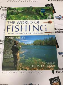 Preloved Book The World of Fishing : the Fish, the Tackle and the Techniques - John Bailey - Used