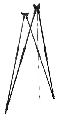 On Point 4 Leg Shooting Stick Black