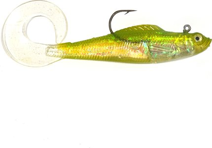 Cobra Predator Curly Tail Sandeel Shad 100mm 17g Loaded