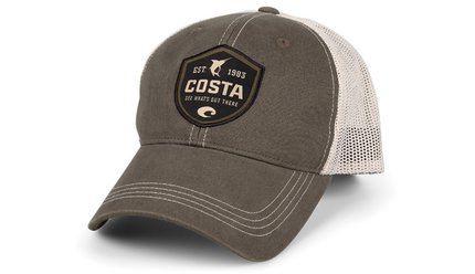 Costa Del Mar Costa Shield Trucker Hat