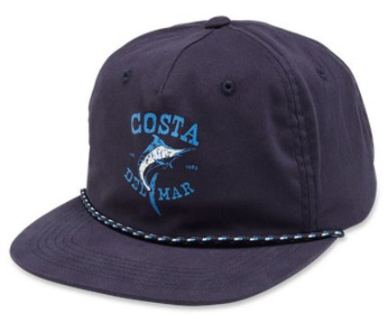 Costa Del Mar Twill Captains Hat