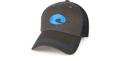 Costa Del Mar Neon Trucker Graphite Twill