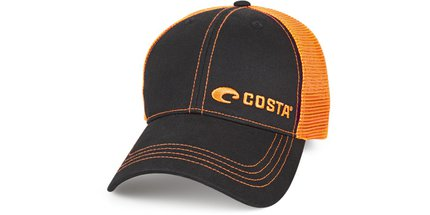 Costa Del Mar Neon Trucker Offset Logo Graphite