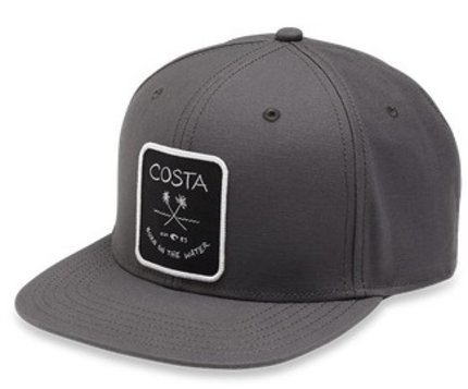 Costa Del Mar Palms Twill Flat Brim Hat