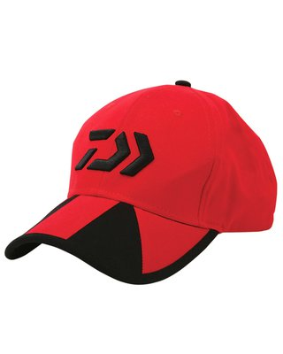 Daiwa Red/Black Twin Beam Baseball Cap