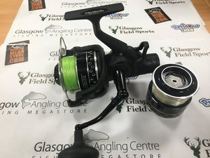 Preloved Daiwa Regal 4000 BR Bait Feeder Reel with Spool - Excellent