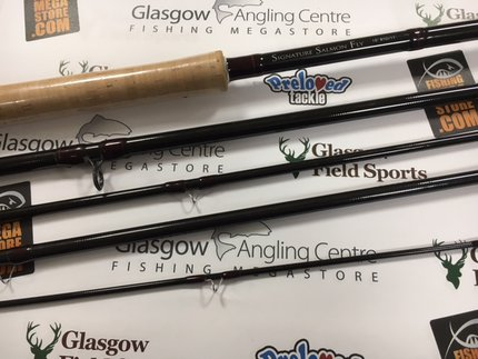 Preloved Daiwa Signature Salmon Fly 15ft #10 Salmon Fly Rod - As New