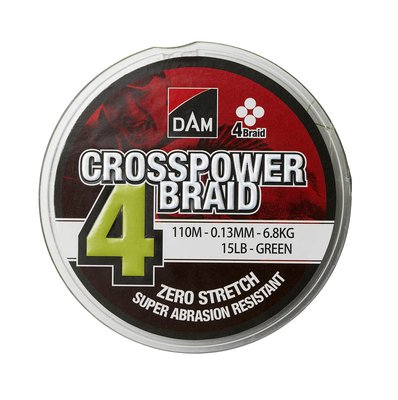 DAM Crosspower 4-Braid - Green