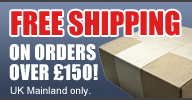 Free shipping on orders over £150!