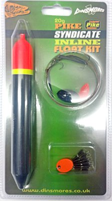 Dinsmores Syndicate Pike Inline Float Kit 20g